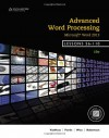 Advanced Word Processing, Lessons 56-110: Microsoft Word - Susie H. VanHuss, Connie M. Forde, Donna L. Woo, Vicki Robertson