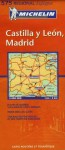 Michelin Castilla Y Leon Madrid Map Spain - Michelin Travel Publications