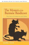 The Mystery of the Burmese Bandicoot - Judy Cox