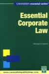 Essential Australian Company Law - Michael Adams, David Barker