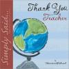 Thank You Teacher Little Gift Book - Marianne Richmond