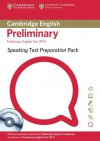 Speaking Test Preparation Pack for PET Paperback with DVD - Cambridge ESOL