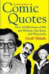 The Mammoth Book Of Comic Quotes - Geoff Tibballs