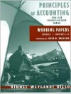 Working Papers Vol. 1 (Ch. 1-14) to Accompany Principles of Accounting - Paul D. Kimmel, Jerry J. Weygandt, Donald E. Kieso