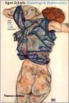 Egon Schiele: Drawings and Watercolors - Jane Kallir, Ivan Vartanian, Richard Avedon