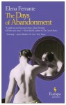 The Days of Abandonment - Elena Ferrante, Ann Goldstein