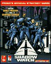 Shadow Watch (Prima's Official Strategy Guide) - Michael Knight
