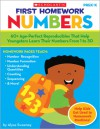 First Homework: Numbers: 60+ Age-Perfect Reproducibles That Help Youngsters Learn Their Numbers From 1 to 30 - Alyse Sweeney
