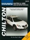 Toyota Matrix & Pontiac Vibe - Jay Storer