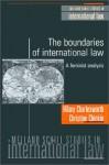 The Boundaries of International Law: A Feminist Analysis - Hilary Charlesworth, Christine Chinkin