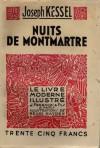 Nuits de Montmartre - Joseph Kessel
