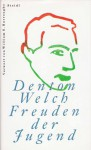 Freuden der Jugend - William S. Burroughs, Carl Weissner, Denton Welch