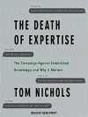 The Death of Expertise - Leigh Nichols
