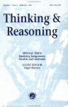 Studying Judgment: Models and Methods: A Special Issue of Thinking and Reasoning - Nigel Harvey