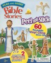 Read and Share: Peel and Stick Bible Stories [With 2 Background Scenes] - Gwen Ellis