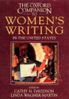 The Oxford Companion to Women's Writing in the United States - Cathy N. Davidson, Linda Wagner-Martin, Elizabeth Ammons, Trudier Harris, Ann Kibbey, Amy Ling