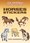 STICKERS: Glitter Horses Stickers - NOT A BOOK