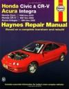 Honda Civic 1996-2000, Honda CR-V 1997-2000 & Acura Integra 1994-2000 (Haynes Automotive Repair Manual) - Larry Warren
