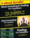 Stock Investing and Trading for Canadians eBook Mega Bundle For Dummies - Andrew Dagys, Michael Griffis, Lita Epstein, Paul Mladjenovic