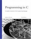 Programming in C (Developer's Library) - Stephen G. Kochan