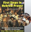 First Steps in Hebrew Prayer with Audio Cd (The Most Important Jewish Prayers, Blessings, and Principles, For the very Beginner) - Danny Ben-Gigi