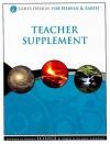 God's Design for Heaven & Earth Teacher Supplement [With 2 CDROMs] - Debbie Lawrence, Richard Lawrence