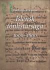 Íslensk tónlistarsaga 1000-1800 - Jón Þórarinsson, Njáll Sigurðsson, Páll Valsson