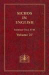Sichos In English: Volume 27 - Tammuz-Elul, 5745 - Menachem M. Schneerson