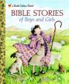 Bible Stories of Boys and Girls (Little Golden Book) - Christin Ditchfield, Jerry Smath