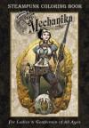 Lady Mechanika Steampunk Coloring Book - Joe Benitez