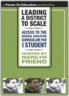 Leading a District to Scale - Marilyn Friend