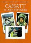 Cassatt: 16 Art Stickers - Mary Cassatt