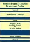 Handbook of Special Education: Research & Practice : Volume 3 - Margaret C. Wang, Herbert J. Walberg