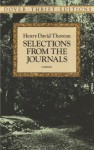 Thoreau, The Selected Journals of Henry David - Henry David Thoreau, Carl Bode