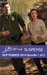 Love Inspired Suspense September 2014 - Bundle 1 of 2: Danger at the BorderDesperate MeasuresStar Witness - Terri Reed, Christy Barritt, Lisa Phillips