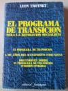 El programa de transición para la revolución socialista - Leon Trotsky