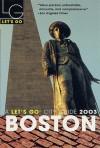 Let's Go Boston 2003 - Let's Go Inc.