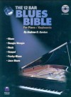 12 Bar Blues Bible for Piano/Keyboards (Book&CD) - Andrew D. Gordon