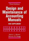 Design and Maintenance of Accounting Manuals, 1999 Supplement - Harry L. Brown, Steven M. Bragg
