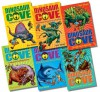 Dinosaur Cove Permian Period Collection - 6 Books RRP £24.95 (Stalking the Fanned Predator; Shadowing of the Wolf-Face Reptiles; Saving the Scaly Beast; Taming the Battling Brutes; Snorkelling with the Saw Shark; Hunted by the Insect Army) - Rex Stone