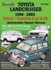 Toyota Landcruiser 1990-2005 Auto Repair Manual: Petrol/Gasoline 6 cyl & V8 - Max Ellery