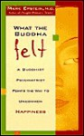 What the Buddha Felt - Mark Epstein
