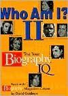 Who Am I? II: Test Your Biography IQ - David Goldman