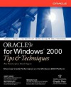 Oracle 9i for Windows: Tips and Techniques - Scott Jesse, Matthew Hart, Mike Sale
