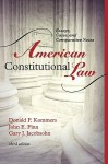 American Constitutional Law: Essays, Cases, and Comparative Notes - Donald Kommers