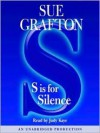 S Is For Silence (Audio) - Sue Grafton, Judy Kaye