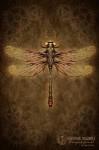 Clockwork Dragonfly Steampunk Journal - Brigid Ashwood