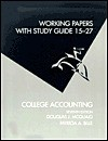 College Accounting Working Papers 15 to 27, Seventh Edition - Douglas J. McQuaig