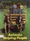 Animals Helping People (Books for Young Explorers) - Suzanne Venino, Donald J. Crump