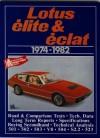 Lotus Elite & Eclat 1974-1982 - R.M. Clarke